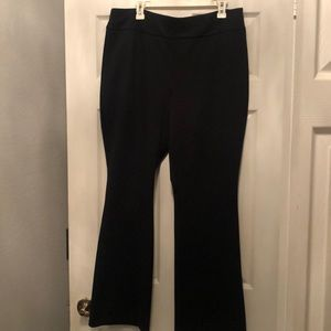 NY & Company XL stretch Black Wide Pants!